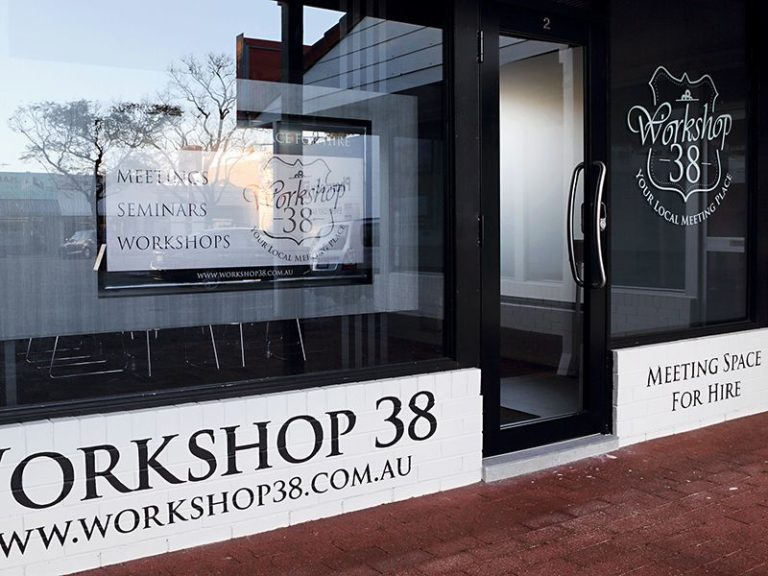 Workshop 38 meeting space for hire in Perth