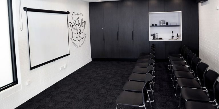 Workshop 38 Gallery seminar space to hire